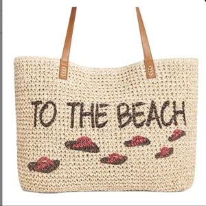 Style & Co Straw Bag